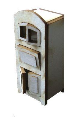 1:48th Vintage Kitchen Cabinet