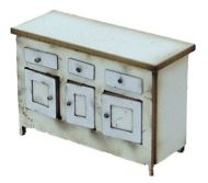 1:48th Vintage Kitchen Sideboard Kit