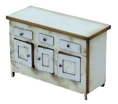 1/48th Vintage Kitchen Sideboard Kit
