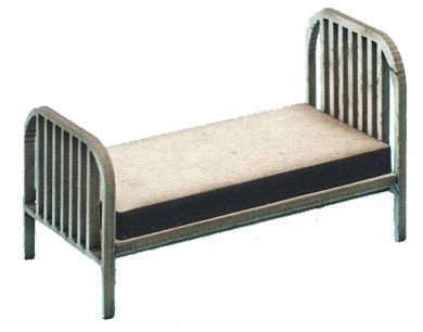 1:48th Vintage Single Bed Kit