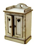 1/24th Cottage Washstand Cupboard Kit