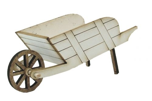 1:24th Traditional Wheelbarrow Kit