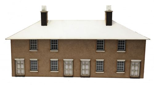 1/76th Worker's Cottage (LOW RELIEF)