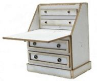 1:24th Writing Bureau with false draws